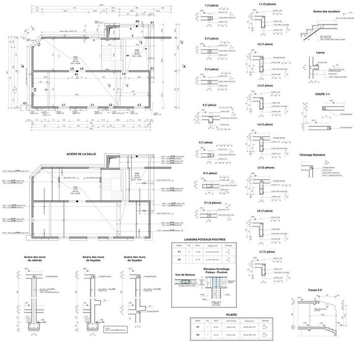 dessinateur independant sp cialis dans le batiment. Black Bedroom Furniture Sets. Home Design Ideas